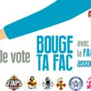 Profession de foi de la liste BOUGE TA FAC, avec l'AGEMP, la FAGE et les associations étudiantes.