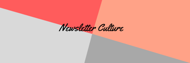 Newsletter Culture début Avril 2019